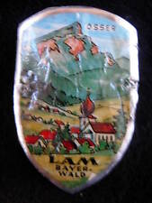 Lam German stocknagel Badge G1529