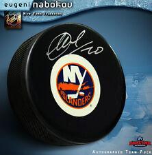 EVGENI NABOKOV  New York Islanders Autographed Puck