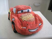 """19""""Disney Pixar Car Lightning MCQUEEN RUST EZE BUMPER OINTMENT Soft Pillow Plush"""