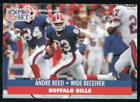 33 ~~ ANDRE REED FOOTBALL CARDS!!