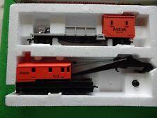 C12 Bachmann h0 treno Set US kranzug Amtrak-mattoncini-SCATOLA ORIGINALE-da eredità