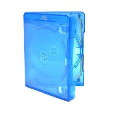 100 Doppio Blu Ray caso 25 mm spina dorsale NUOVA copertura di ricambio Amaray fianco a fianco