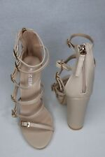 Women Block High Heel Ankle Strap, Sandals,  Size 3, for Summer or a Party