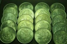 "1921-"" P "" Lot Of 20 "" Nice "" Morgan Silver $.Last One Issued, # 3100"
