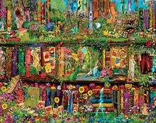 Jigsaw Puzzle Bookcase Once Upon a Shelf Mystical Garden 750 pieces NEW