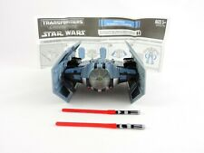 Darth Vader to TIE Advanced STAR WARS / TRANSFORMERS Crossovers COMPLETE vehicle