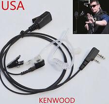 EARPIECE HEADSET KENWOOD 2 PIN RADIOS PROTALK TK-3230XLS TK-3173 TK-360 TK-2302