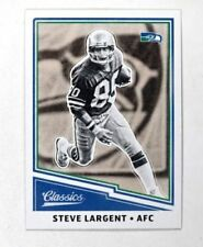 Panini Steve Largent Football Trading Cards Ebay
