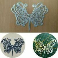 Butterfly Metal Cutting Dies DIY Scrapbooking Dies Cut Stitch Craft Die Stencil~