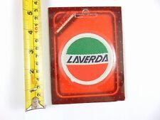 Genuine Original Laverda Motorcycles - Paddy Hopkirk 1960/70s Woven Cloth Patch