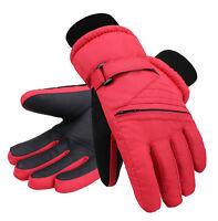 Kids' Zippered Pocket Ski & Snowboarding Gloves