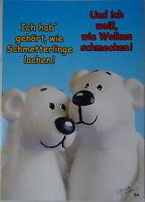 Postkarte Grußkarte Tatzino Bär Nr. 54 mit lustigem Spruch