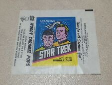 1976 Scanlens Star Trek - Wax Pack Wrapper