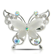 1PC Charming Gold Silver Brooches Fashion Butterfly Brooch Pin Jewelry Accessory