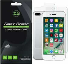 Dmax Armor Front & Back Anti-Glare (Matte) Screen Protector for iPhone 7 Plus