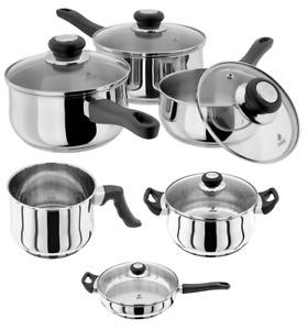 Judge Vista Milk Sauce Saute Casserole Frying Pans 12,14,16,18,20,22,24,28,30cm