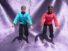 Star Trek MEGO Vintage McCoy Type 1 with Belt and Scotty