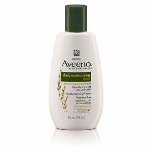 Aveeno Daily Moisturizing Lotion Dry Skin1oz  (Set of 2) Travel Size Exp. 08/21