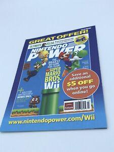 Nintendo Power Magazine Subscription Offer, Wii Insert 2011
