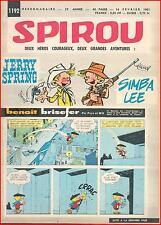 ▬► Spirou Hebdo N° 1192 du16 Février 1961 La Gordon GT