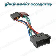 Hyundai H-1 auto estéreo RADIO mazo de cables ISO Adaptador Telar hy-100