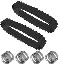 Lego RUBBER Treads+Wheels (technic,mindstorms,tank,track,hub,caterpillar,robot)