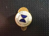 Motori Morini Franco Reversknopf emailliert 13mm ohne Stempel Motorrad