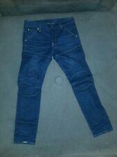 G-STAR Mens Jeans 5620 3D Slim 33×32 Dark blue denim