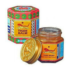 BEST Tiger Balm Red Relief Muscular Aches Pain Sprains Ointment Massage Rub 10g