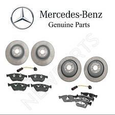 Mercedes W164 ML63 AMG Front & Rear Brake Disc & Pads w/ Sensor KIT Genuine