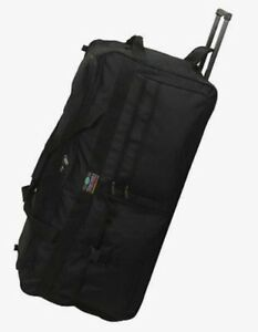 Large 36 Inch Rolling Wheeled Duffel Bag 5796 Luggage Travel  Heavy Duty Wheels