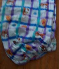 Vintage Winnie the Pooh Twin Fitted Sheet Cotton Blend Used