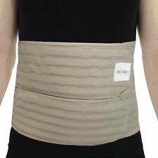 ITA-MED I AB-309M B X-Large Breathable Elastic Abdominal Binder for Men