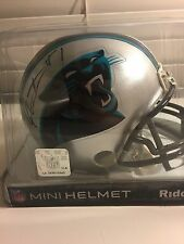 Cam Newton Steve Smith signed mini-helmet