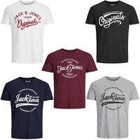 Jack & Jones Originals T-Shirt Mens Crew Neck Tee 100% Soft Cotton Jornyraffa