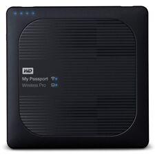 Western Digital My Passport Wireless Pro 4TB Schwarz Externe Festplatte schwarz