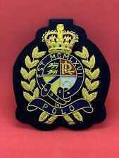 More details for ralph lauran blazer badge handmade bullion and wire blazer badge rlu