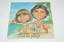 RENE ET NATHALIE SIMARD Sur La Plage LP 1983 NEW SEALED GC Records G.C.2204 René
