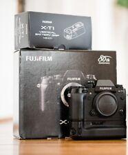 Fujifilm X-T1 Digital Camera with Fuji Grip VG-XT1 and RRS L-Plate - Black
