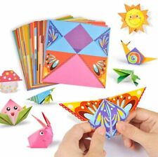 Premium Colorful Kids Origami Kit Double Sided Vivid Origami Papers