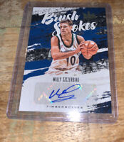 2019-20 Court Kings Wally Szczerbiak Brush Strokes Auto Autograph /99