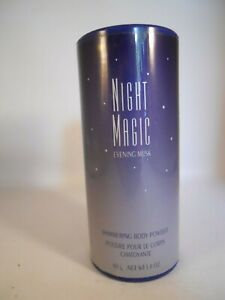 AVON Night Magic Evening Musk Shimmering Body Powder 1.4oz NEW