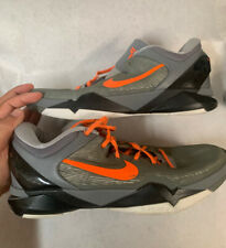 Kobe VII 7 System Grey Wolf  Nike Zoom  Size 11 Used Wear #8