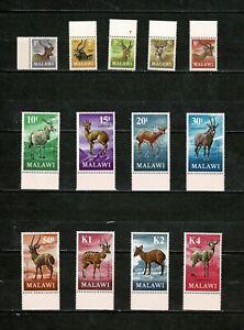 DE413 MALAWI 1971 Decimal currency - Antelopes  MNH