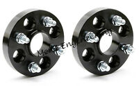 Black Merit Wheel Spacer Adapter 20 mm 4x100 Hub Centric 2 PCS BMW E30 E21