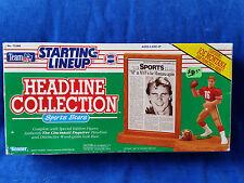 1991 Starting Lineup Headline Collection- Joe Montana- 49ers