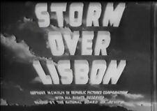 STORM OVER LISBON 1944 (DVD) ERICH VON STROHEIM, RICHARD ARLEN, VERA RALSTON