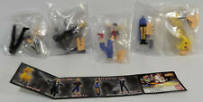FINAL FANTASY VII : SETOF 5 SMALL FIGURES MADE BY BAN DAI IN 1999