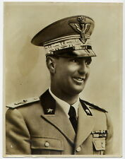 SAVOIA Umberto Principe di Piemonte divisa Generale Regio Esercito 26x20  RARA