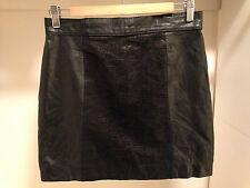 Genuine Leather Vintage Reptile Skirt